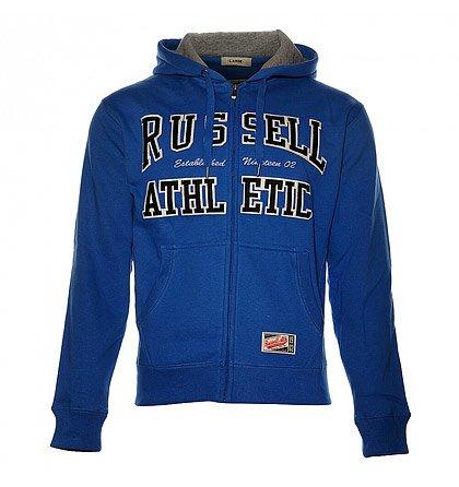Pánská modrá mikina Russell Athletic d23fc567bb0