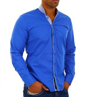 Nebesky modrá košile Carisma 460caaf71f