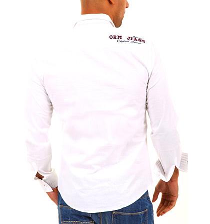 Stylová bavlněná košile s módními detaily 16681845ab