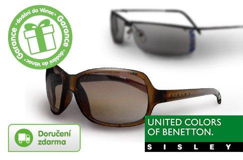Sluneční brýle Benetton a Sisley -79%
