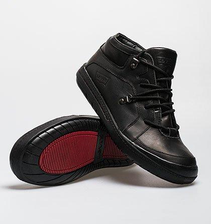 Kožené kotníčkové boty Levi´s – černé 46212c3d01