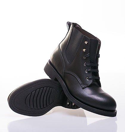 Pánské kožené boty Levi s® hand made černé cdd2d3bda8