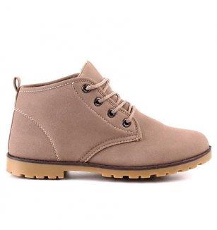 a18b73a56dc Kotníčková dámská obuv béžová