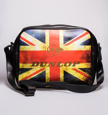 Dunlop taška přes rameno černá s potiskem Zobrazení: 686
