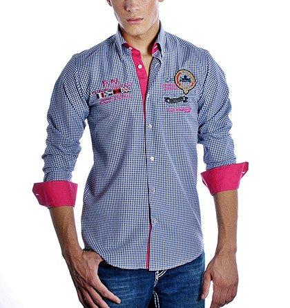 Pánská košile Pontto kostkovaná 9577588a72