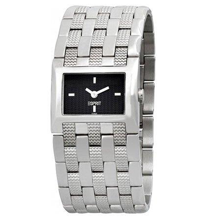 Široké dámské hodinky Esprit černý ciferník 6c4707a3e6