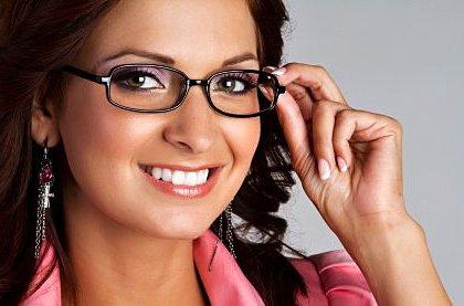 Stylové dioptrické brýle nebo brýlové čočky