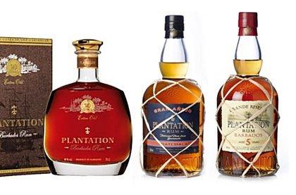 Výběrové karibské rumy Plantation