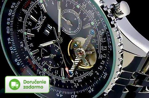 Pánske hodinky Winner Tourbillon