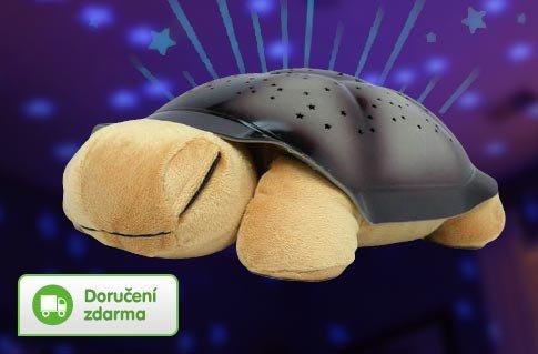 Svítící želva pro děti – doručení zdarma