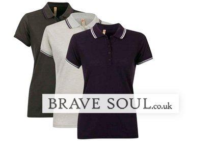 Tři značková dámská polotrička Brave Soul