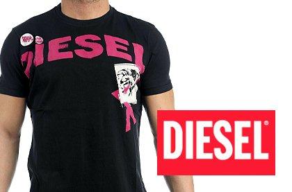 08d1584d7cb8 Značkové pánské triko Diesel