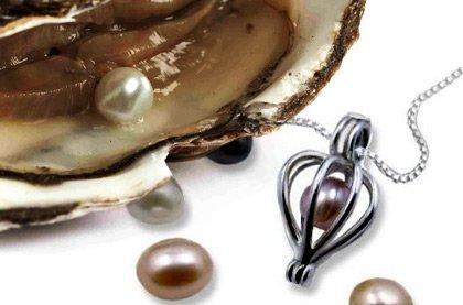 Perla přání s náhrdelníkem