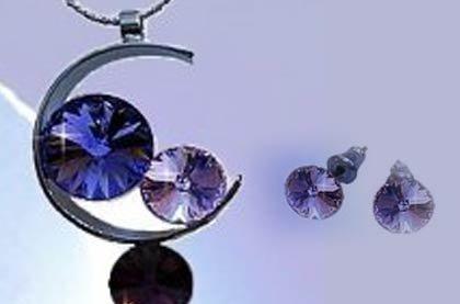 Set šperků se SWAROVSKI Elements
