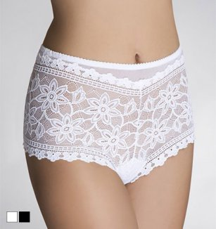 Šortkové kalhotky Cornela figi (dvojbalení)
