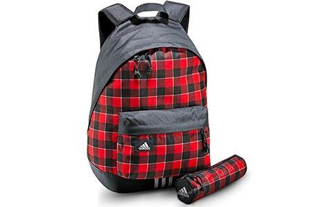 9ef11919fed ... ▻K černo-červenému Adidas batohu obdržíte i pouzdro