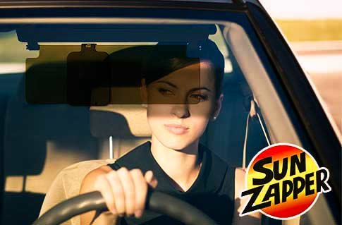 Praktické stínítko do auta Sun Zapper®