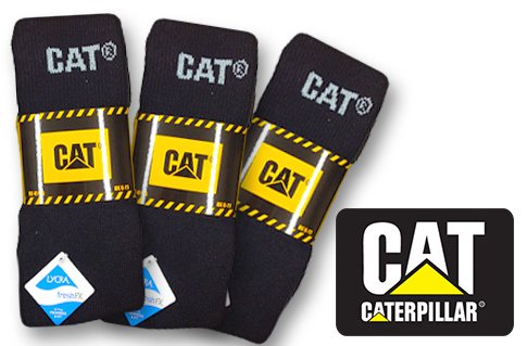 Pánské ponožky Caterpillar – 3 páry  4613e1ae27