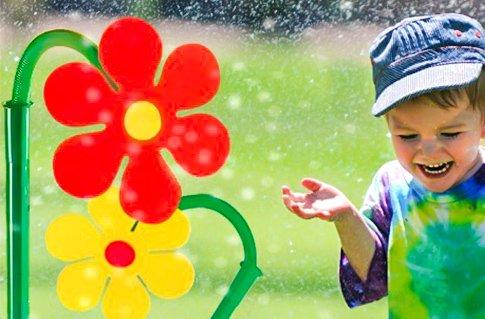Zavlažovací květina