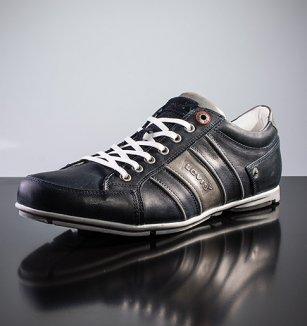 e55852282ae Kožené sportovní boty Levi´s – tmavě modré