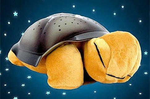 Svítící želva pro klidné usínání