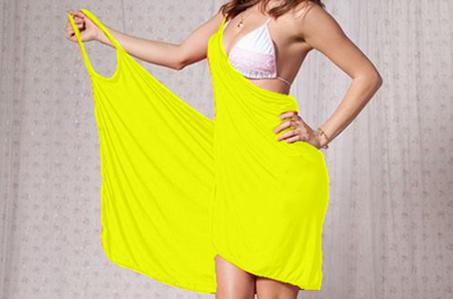 56 % letní zavinovací šaty na pláž a šaty na léto be568acac1