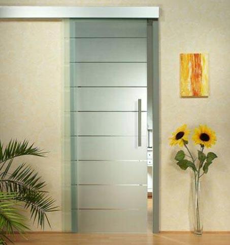 Posuvné dveře na stěnu obi