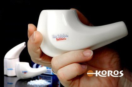 Inhalační solná fajfka s náplní
