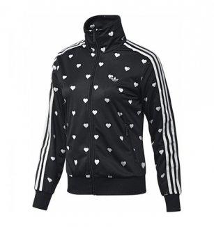 47a625403df Dámské mikiny adidas Originals. Černo-bílá mikina adidas Graphic TT Black