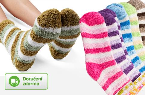 Dámské teplé ponožky – 6 párů 0db646b9d1