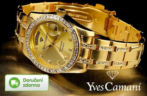 93cd56195c1 68 % luxusní dámské hodinky Yves Camani
