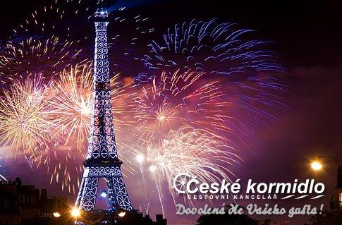 Silvestr v Paříži – 4denní zájezd pro jednoho