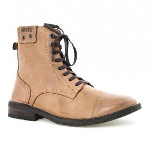 Kožené pánské zimní boty značky Levi s  b176e9397b