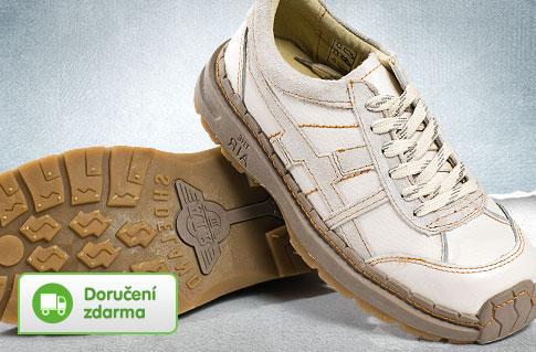 e46549a562c Dámská vycházková obuv z kůže