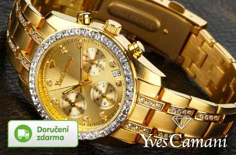 c811177676f Luxusní dámské hodinky Yves Camani. Značkové ...