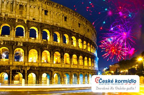 Silvestrovský zájezd do Říma s ubytováním***