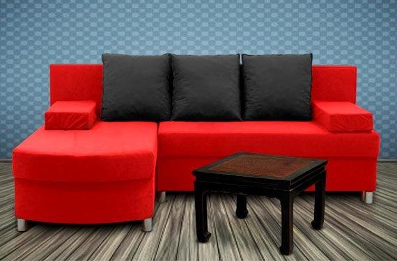 Rozkládací sedací souprava – 3 barvy