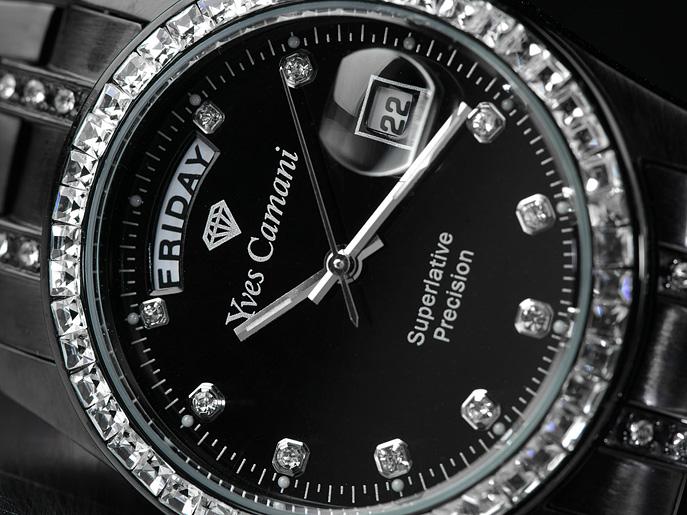 36ff444fc7c 68 % sleva luxusní dámské hodinky Yves Camani Auron