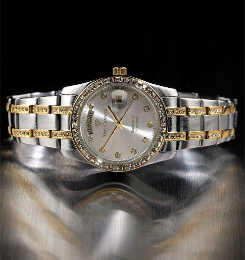 68 % sleva luxusní dámské hodinky Yves Camani Auron  24dc976803