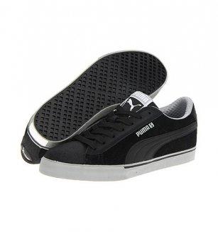 79e3d051c36 Pánské boty Puma S Low City černo-šedé