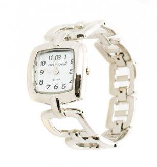 b8d0997d9f0 Dámské náramkové hodinky Charles Delon hranaté