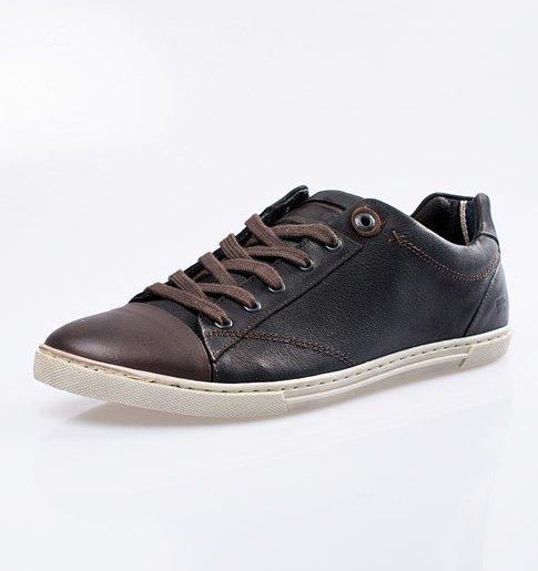 3c00a1b815c Kožené sportovní boty Levi´s – hnědé