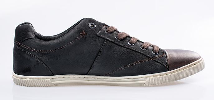 Sportovní kožené boty Levi s na šněrování 75666eab3c
