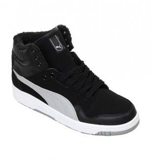 Pánské boty Puma Rebound – černé 66d379bdd77