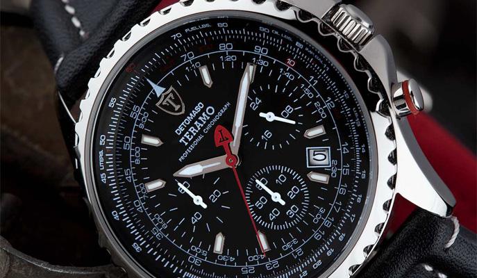 Luxusní pánské hodinky Detomaso 70adc37a2b