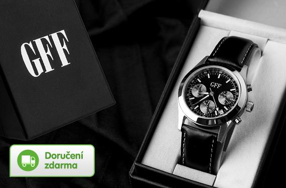 72 % pánské hodinky GFF Chronograph – cena 499 Kč 04f218c324
