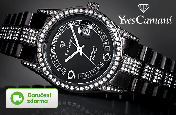 1e0ac5eaf3a Vykupto  Dámské luxusní hodinky Yves Camani