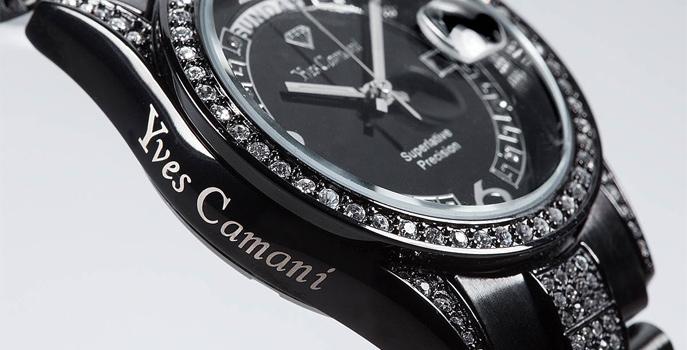 de20d22698d 67 % luxusní dámské hodinky Yves Camani za 1 990 Kč