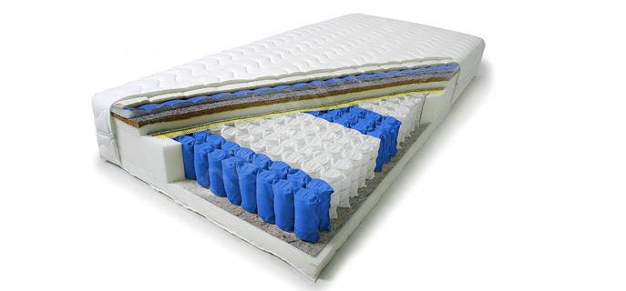 Postel včetně matrace a roštu