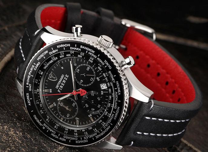 219b4d2bbdf 72 % luxusní hodinky pro muže Detomaso